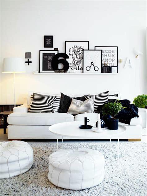 design chic ou un salon noir et blanc unique design feria