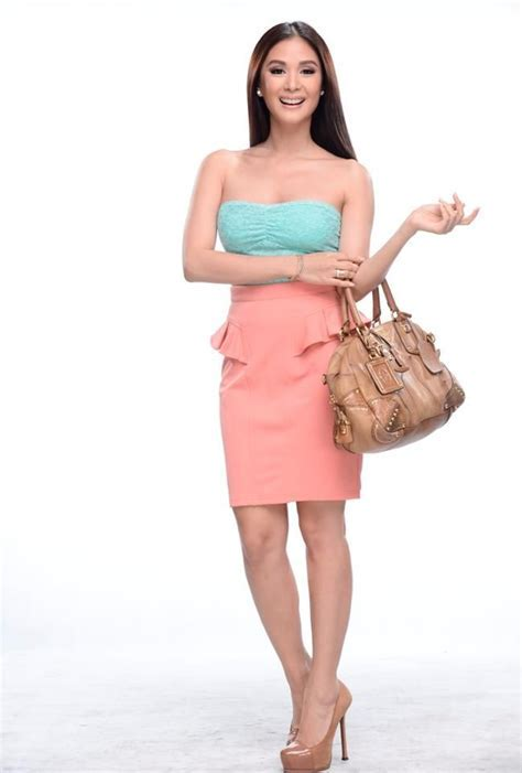 Heart Evangelista  Blue Pink Dress #SossyProblems   Heart