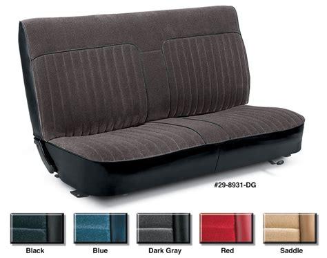 chevy s10 bench seat covers 1988 chevy s10 bench seat covers velcromag