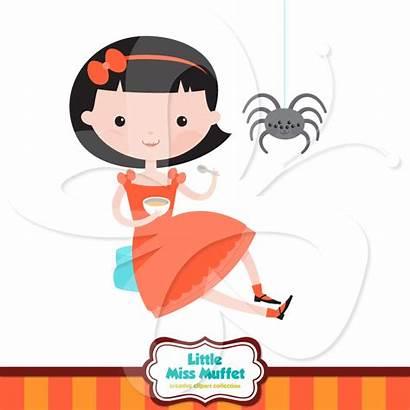 Clipart Miss Nursery Clip Muffet Rhyme Peter