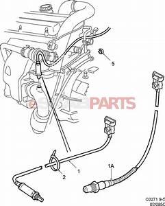 4570917  Saab Rear Heated Oxygen Sensor