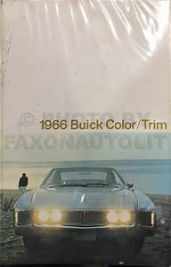 1966 Buick Cruise Control Repair Shop Manual Original