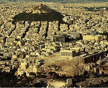Ancient Cities Athens Greece Famous Before Buildings