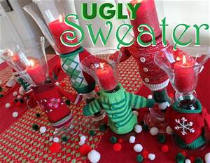 Ugly Christmas Sweater Party Ideas Oh My Creative