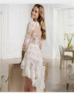 short white long sleeve lace dress 2016 2017 b2b fashion