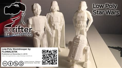Low Poly Star Wars (tm) Characters