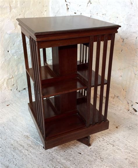 How To Build A Revolving Bookcase by Mahogany Revolving Bookcase Antiques Atlas