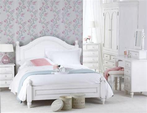 papier peint chambre adulte romantique décoration de la chambre romantique 55 idées shabby chic