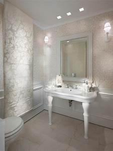 Tapeten Badezimmer Beispiele : silberne wandfarbe 24 unglaubliche bilder ~ Markanthonyermac.com Haus und Dekorationen