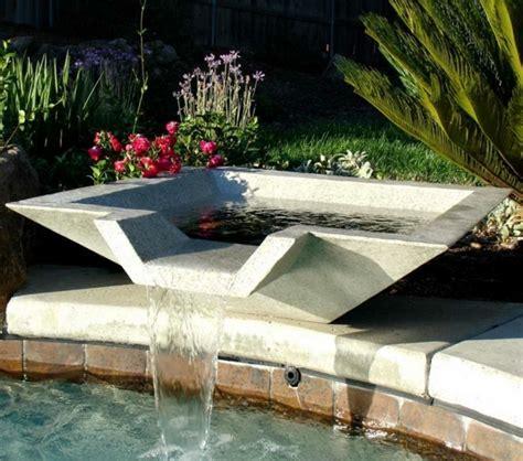 d 233 coration de jardin avec une fontaine pour bassin