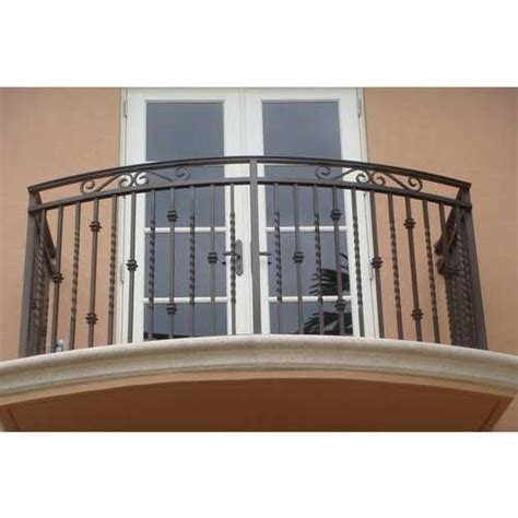 Ms Handrail Design - ms balcony railings at rs 160 square mild steel