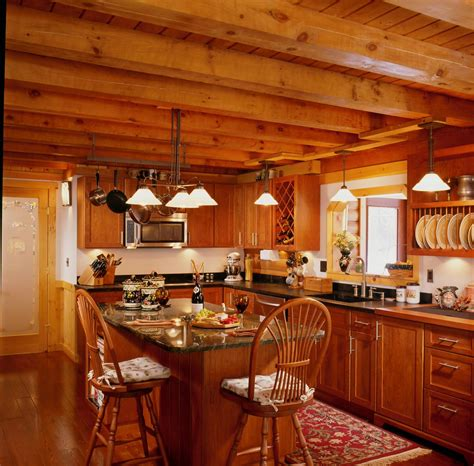 log home kitchens luxury log cabin home luxury log cabin
