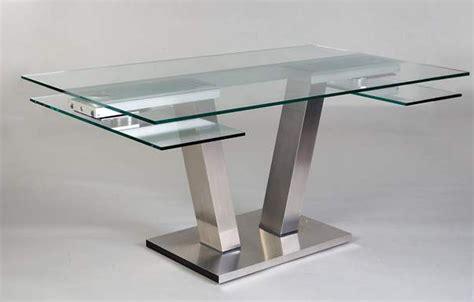 canapes conforama convertibles table repas design verre extensible vinci eda concept