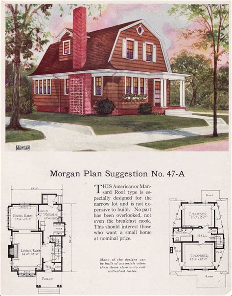 simple gambrel house style ideas 1923 colonial revival gambrel roof