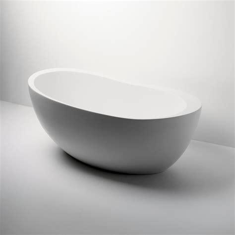 freestanding oval composite bathtub modern bathtubs