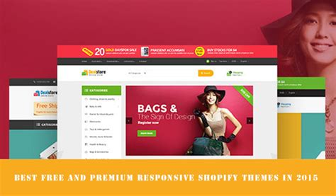 Shopify Templates Best Free Shopify Templates And Premium Responsive Shopify