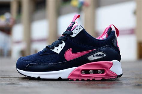 nike air max high blue 2015 nike air max 90 high tops shoes for navy