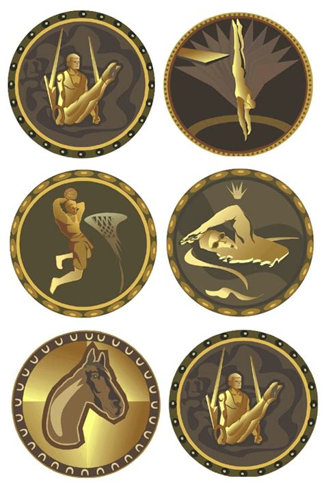 printable olympic medals