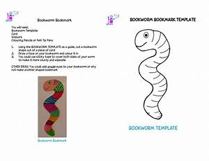 Bookworm template google search bookworms pinterest for Bookworm bookmark template