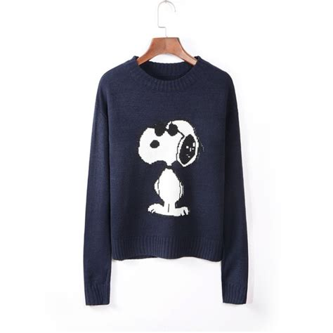 snoopy sweater wholesale snoopy pullover sweater cmk103126
