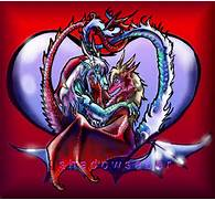 Dragon Heart East Loves West by ShadowSaber on DeviantArt  Dragons And Hearts Drawings