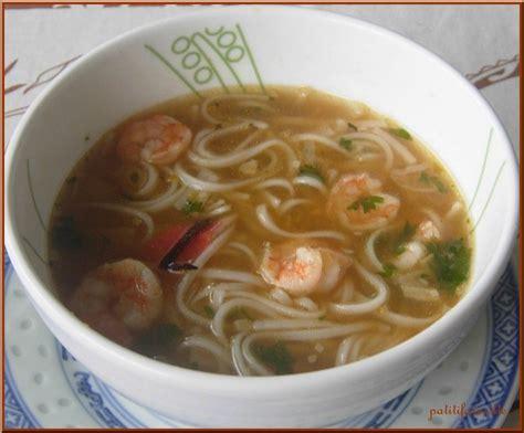 recette soupe aux crevettes recettes maroc