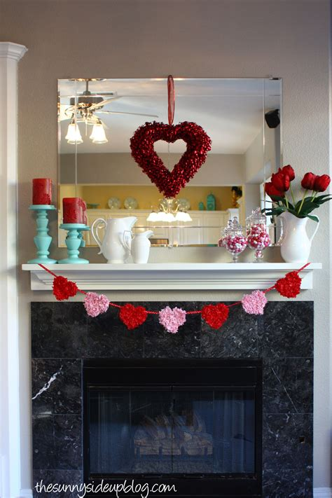 valentines day mantel over 10 fun ideas for valentine s day the sunny side up blog