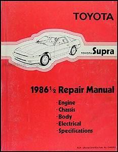 SUPRA SHOP MANUAL 1992 TOYOTA SERVICE REPAIR BOOK HAYNES CHILTON