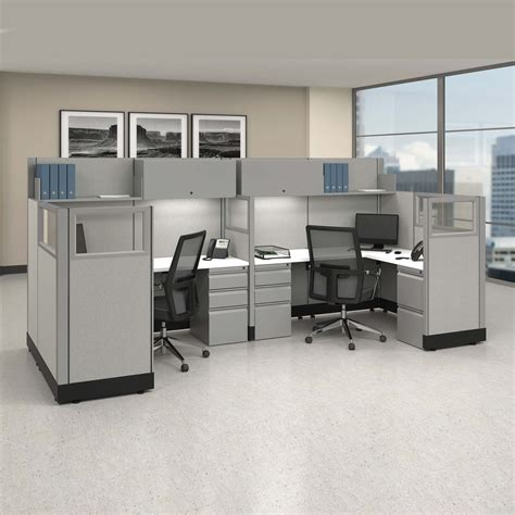 modular office workstations   pack bullpen powered