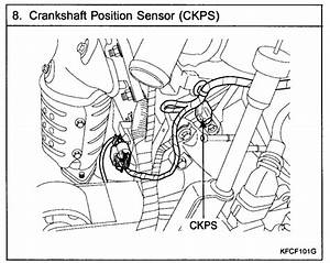 Where Is The Crankshaft Position Sensor Located On A 2006