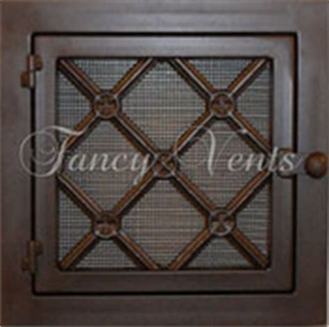 Decorative Return Air Filter Grille by Fancy Vents Filter Grills