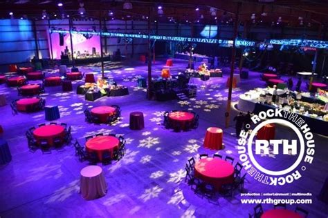 corporate holiday parties and events rock the house rock the house