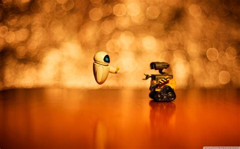 Wall E And Eve Wallpaper Hd Wallpaper  Movies Wallpapers