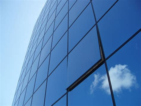 curtain wall glass facade glass envelope