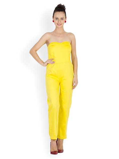 yellow jumpsuit dressedupgirlcom