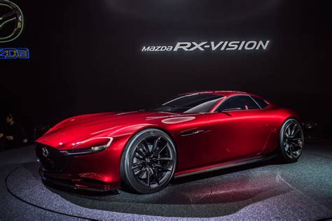 mazda rx  decided  rotary powertrain brakes