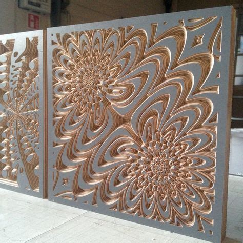 untitled  bonitum cnc art wood wall art design