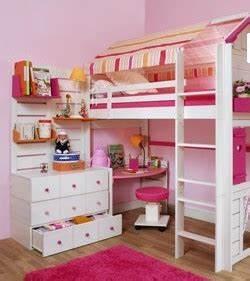 Cabane Chambre Fille : chambre enfant sur mesure lit cabane lit mezzanine ~ Teatrodelosmanantiales.com Idées de Décoration