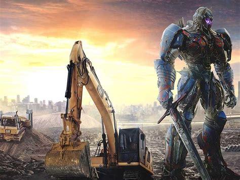 cat excavator stars  latest transformers film