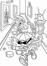 Door Coloring Garage Enemies Template Office Bulk sketch template