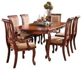 7 dining room sets steve silver harmony 7 oval dining room set in cherry traditional dining sets by