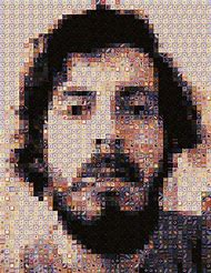 Artist Chuck Close Portrait