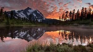 Nature, Canada, Landscape, Lake, Forest, Mountain