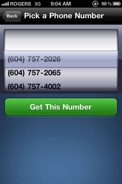 textplus update brings  phone numbers  canada