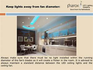 Led lighting placement tips