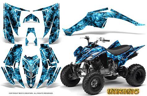 yamaha raptor 350 graphics kit creatorx decals stickers inferno bli ebay