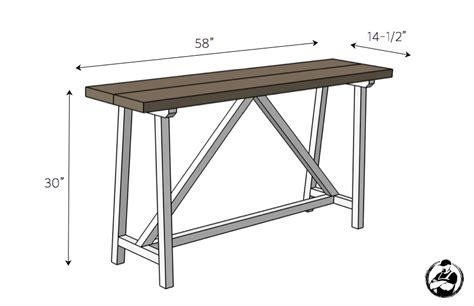 Diy Truss Console Table Plans  Rogue Engineer. Danby Marble. Patterson Homes. Silver Metal Coffee Table. Mid Century Modern Bedroom. Prestige Pools And Spas. Taj Mahal Quartzite Cost. Bookcase Lighting. Flooring Innovations