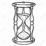 Tattoo Hourglass Drawing Reloj Coloring Arena Colorear Sablier Adults Dibujo Sanduhr Antique Most Expensive Zeichnung Malbuecher Skizzen Unique Sketch Glass sketch template