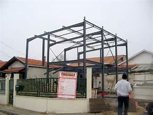 Maison Structure Métallique : maison individuelle a ossature metallique ~ Melissatoandfro.com Idées de Décoration