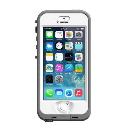 iphone 5s lifeproof nuud lifeproof nuud for iphone 5s white grey
